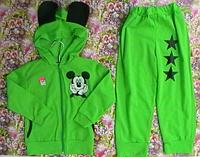 Спортивный костюм детский (кофта с капюшоном и штаны)