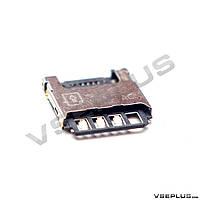 Разъем на SIM карту Samsung I9190 Galaxy S4 mini / I9192 Galaxy S4 Mini Duos / I9195 Galaxy S4 Mini
