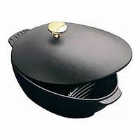 Кастрюля для мидий Staub 25 cм 2 л черная 1102523