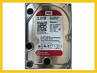 HDD 3.0TB 5400 SATA3 3.5 WD Red WD30EFRX б/у