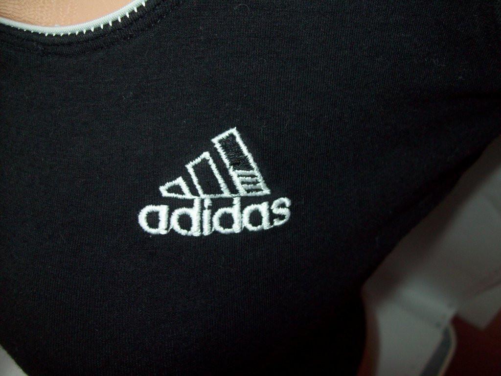 Майка-топ adidas climalite хлопок