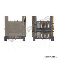 Разъем на SIM карту HTC A8181 Desire G7 / A9191 Desire HD