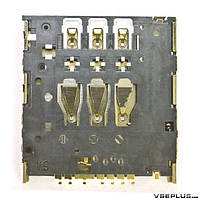 Разъем на SIM карту Meizu MX2 / MX3 / MX4, Sony LT22i Xperia P / LT30p Xperia T