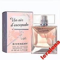 Givenchy Un Air d`Escapade 100ml.НОВИНКА 2012 года
