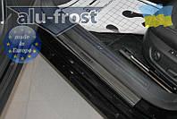 Накладки на пороги Volkswagen Passat B6, CC, B7