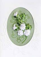 Набор для вышивания крестом «Открытка «К свадьбе»» (1301АС), Риолис