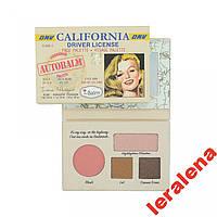 Палетка для макияжа theBalm Autobalm California