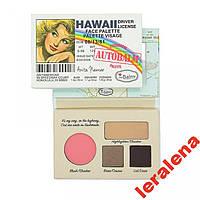 Палетка для макияжа theBalm Autobalm Hawaii Palett