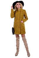 Женское демисезонное пальто букле арт. Мелини букле