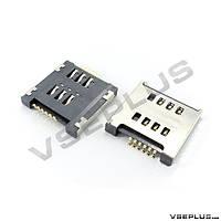 Разъем на SIM карту LG D285 Optimus L65 Dual / D325 Optimus L70 Dual / D380 Optimus L80 Dual