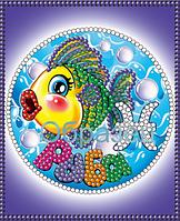 Схема для вышивки бисером КМР 6016 Знаки зодиака.Рыбы