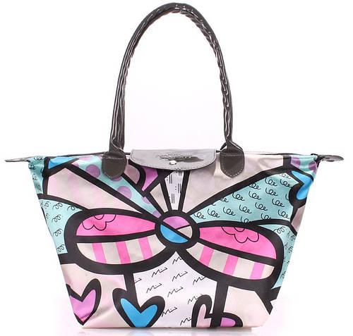 Женская сумка с цветочным принтом POOLPARTY pool80-10