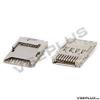 Разъем на SIM карту Samsung G355H Galaxy Core 2 Duos / G900H Galaxy S5 / N7502 Galaxy Note 3 Neo Duos