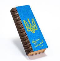 """Школьный пенал из дерева """"Україна понад усе!"""""""
