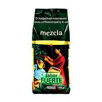 Кофе в зернах Hacendado Mezcla Sabor Fuerte 1кг
