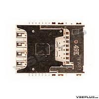 Разъем на SIM карту LG D722 G3 s / D724 G3s Dual / D850 Optimus G3 / D851 Optimus G3 / D855 Optimus G3