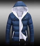 Мужская зимняя куртка Nike синяя