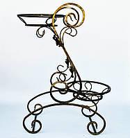 Подставка для цветов кованая Долор средний G-015