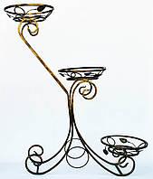 Подставка для цветов кованая Сани большие - 3 G-018