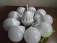 10шт Светодиодная лампочка 5W 5 ВАТT E14 9 LED