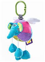 Подвеска на коляску и автокресло Sensillo Летающий слоник с вибрацией (23344)