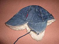 Woodcraft. Тёплая джинсовая шапка (детская)