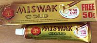 Зубная паста без фтора Miswak Gold Meswak Мисвак Dabur 170г