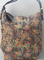 "Женская сумка ""Сакура"" из натуральной кожи от Velina Fabbiano"