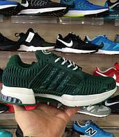 Кроссовки мужские Adidas ClimaCool зеленые оригинал