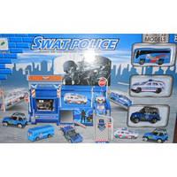 Полицейский участок 3 машинки