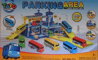 Трек паркинг Тайо +4 автобуса