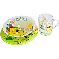 Набор детской посуды Luminarc Disney Winnie Garden H6435 3 предмета