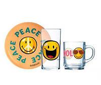 Набор детской посуды Smiley World First Luminarc H5319 3 предмета