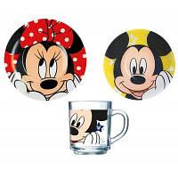 Набор детской посуды Luminarc Disney Oh Minnie H6446 3 предмета