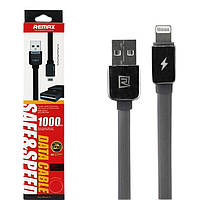 Кабель USB Lightning 8-pin REMAX Safe&Speed (двусторонний USB) (black)
