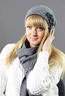 Модный комплект шапка/шарф