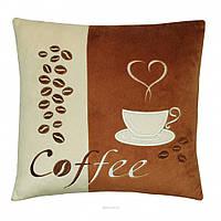 Декоративная подушка Чашка кофе Тигрес