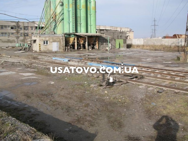 Продажа производственной базы площадью 5300 м.кв., участок 34062 м.кв. в городе Одесса