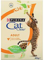 Cat Chow для взрослых кошек с курицей и индейкой, 400 гр