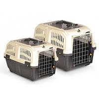 Переноска для кошек и собак Skudo (Скудо) 3 IATA Grey 60*40*39, вес до 24 кг