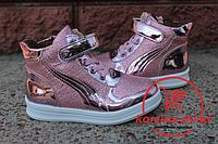 Детские кроссовки-ботинки  на девочку в стиле Puma