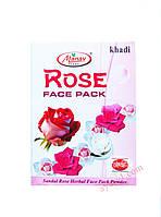 Эффективная формула защиты от старения кожи, Маска с лепестками роз, Кхади / Rose, Khadi / 25 гр