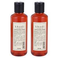 Гель для душа Сандал и Мед- прекрасно подходит для сухой кожи/ Herbal body wash Khadi / 210 мл.