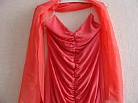Нарядное Вечернее Выпускное Платье шарф шифон