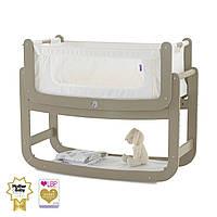 Приставная кроватка люлька для новорожденных (цвет Putty), Snuz Pod