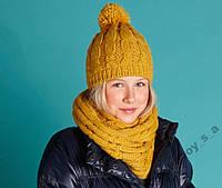 Комплект шапка + снуд Tchibo