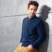 Изысканный вязаный свитер  размер 52 евро,  Tchibo