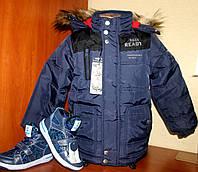 Детская куртка еврозима для мальчика 92-128