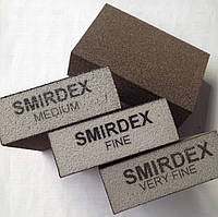 Губка для шлифовки Smirdex Corse (грубый) 100х70х25 мм