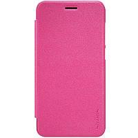 Чехол книжка Nillkin Sparkle Series для Huawei Y5II розовый